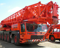 Hire a Crane in Cornwall