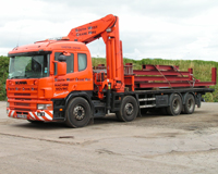 Lorry Mounted Crane Hire